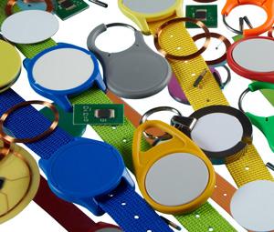 Verschiedenste RFID-Transponder Bauformen