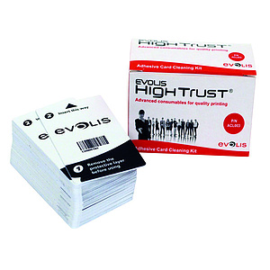 EVOLIS Adhesive Card Cleaning Kit ACL003