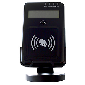 ACS ACR1222L NFC-Reader mit LCD-Display